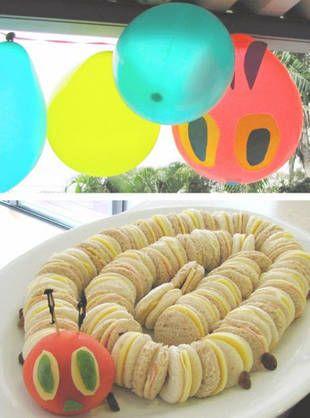 Cute Hungry Caterpillar food!