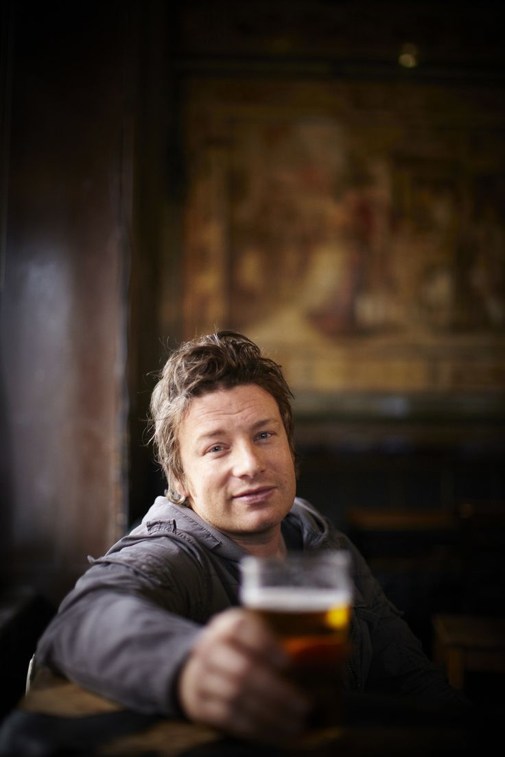 Jamie Oliver by David Loftus