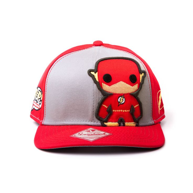 Official Funko Pop Heroes The Flash Lightning Cartoon Red Snap Back Baseball Cap in Clothes, Shoes & Accessories, Men's Accessories, Hats | eBay