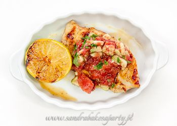 Grilled chicken breast with smoked Spanish paprika.