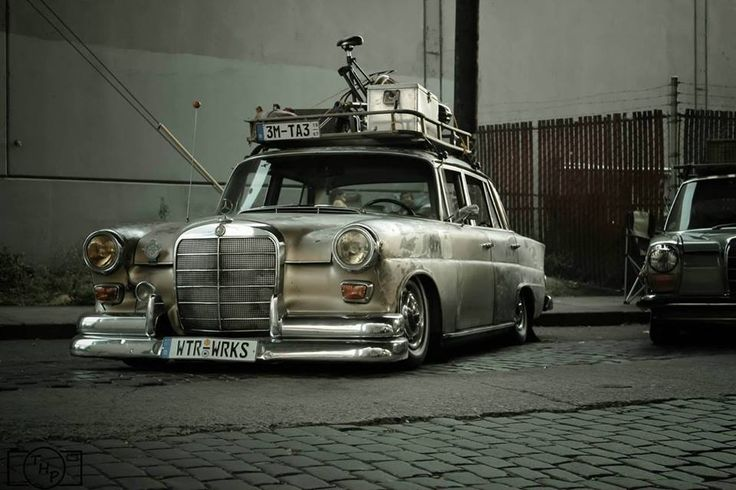 Mercedes Benz Rat Rod