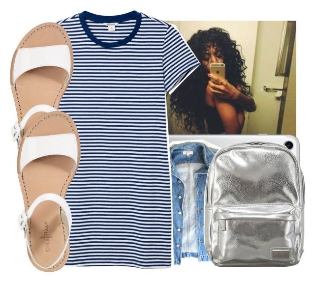 """""""BTS Set💍"""" by theyknowniyaaa ❤ liked on Polyvore featuring GUESS, Monki, Cole Haan and Pantone"""
