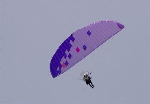 Motorized Engine Powered Parachute