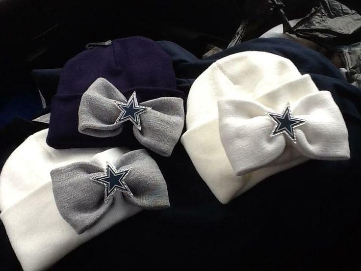 Dallas Cowboys Bow Beanie :)