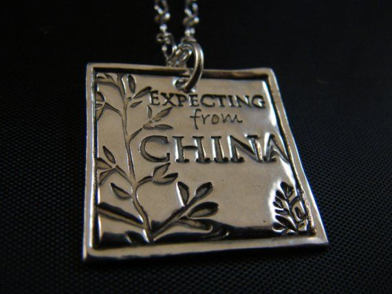 China NecklaceExpecting from China Adoption necklace by JUNKPOSSE, $72.00