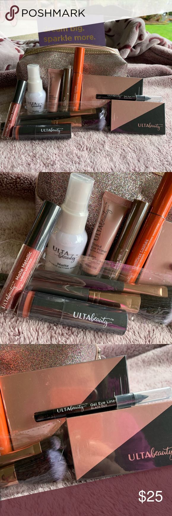 Ulta Makeup Face & Eyes Set Ulta makeup, Makeup setting