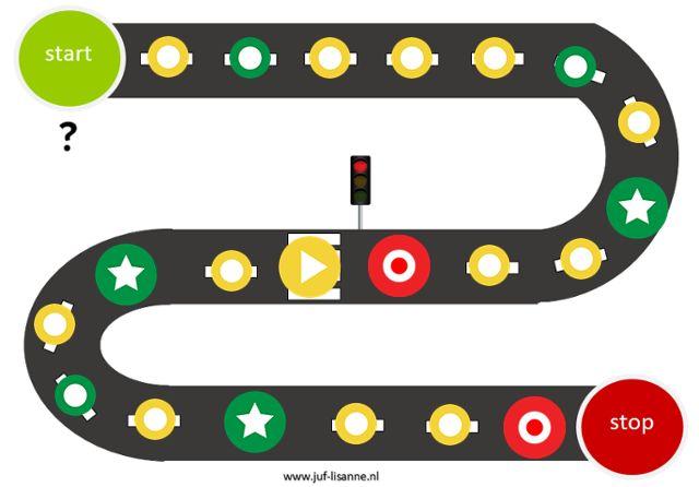 Verkeersspel digibord