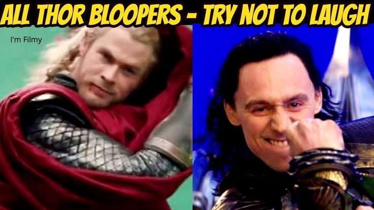 All Thor Bloopers and Gag Reel - Avengers Series Included - Chris Hemswo...
