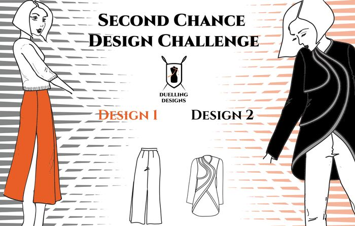 Vote Now! Second Chance Design Challenge on the Duelling Designs Blog www.duellingdesigns.com