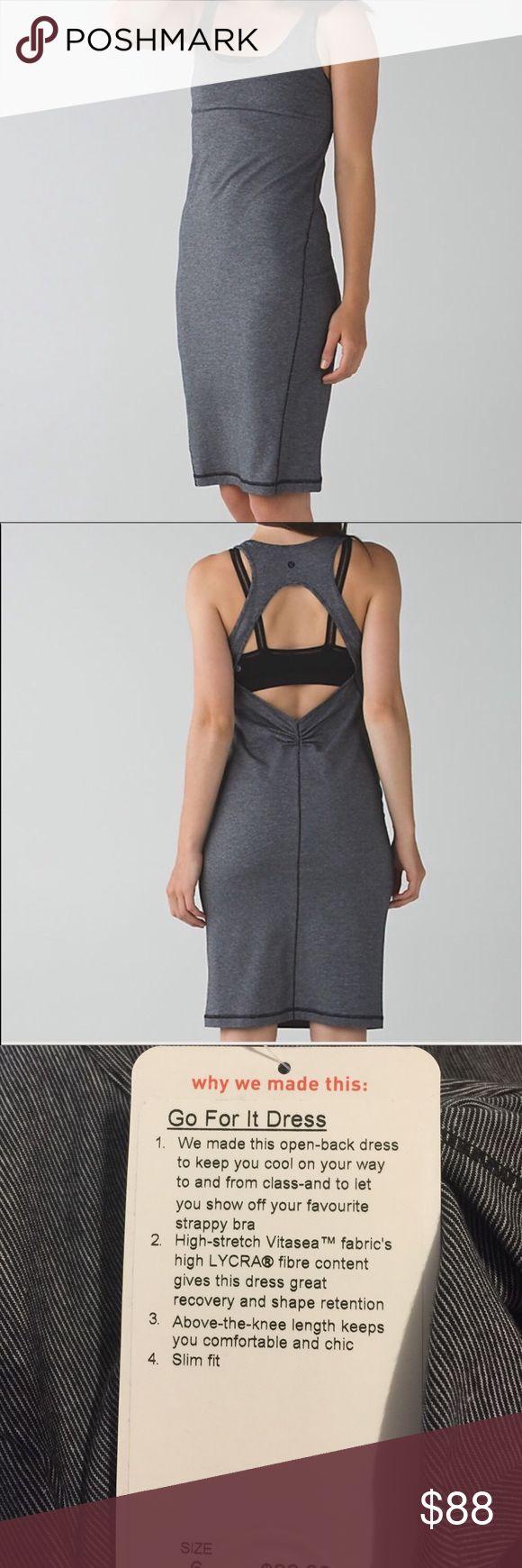 Lululemon dress. Summer dress Go for it  dark gray Lululemon dress. Summer dress Go for it  dark gray lululemon athletica Dresses