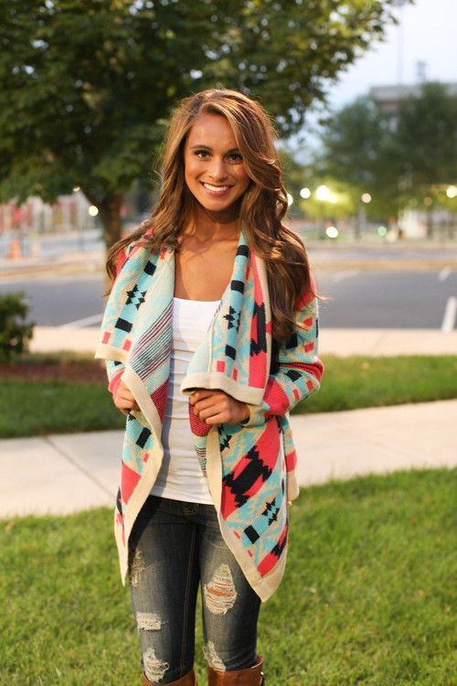 The Bonfire Cardigan - already own a cardi like this one. Simple top, holy jeans and boots!