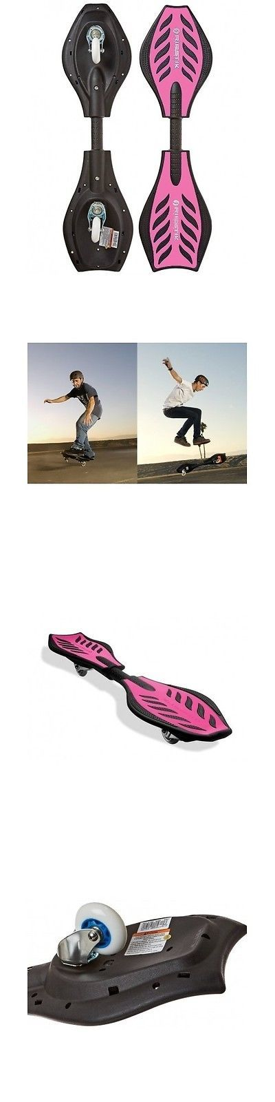 Other Skate- and Longboarding 16265: Caster Board Skateboard Wave Roller Razor Street Surfing Ripstik Snowboard Pink -> BUY IT NOW ONLY: $69.99 on eBay!