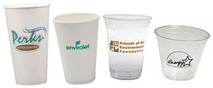 Build your brand with Custom Biodegradable Plastic Cups & Recycled Paper Cups that make a difference. Help the environment with these Promotional Biodegradable Plastic Cups at your next meeting or event.