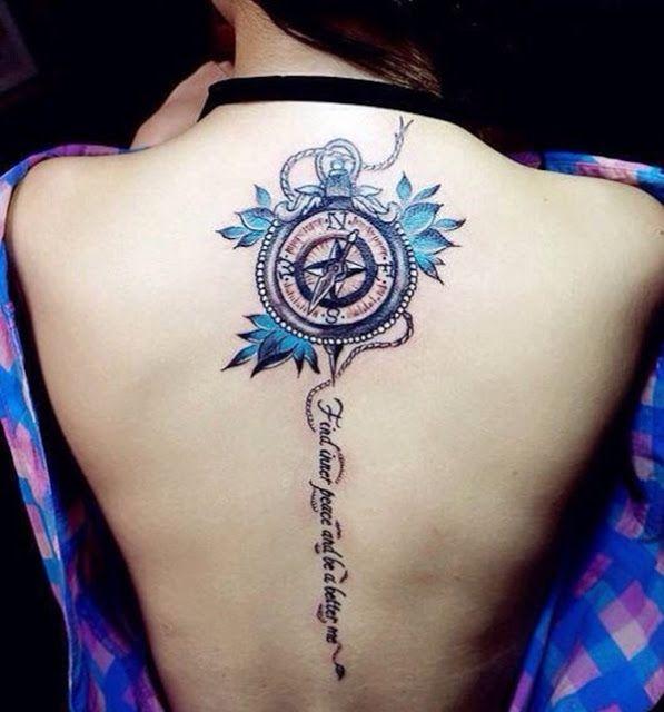 Phoenix Tattoo Designs On Back For Ladies