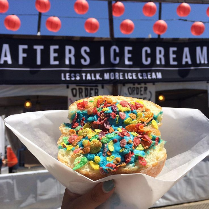 Milky bun from Afters Ice Cream at #FYFFest.