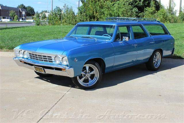 1967 Chevrolet Malibu Station Wagon