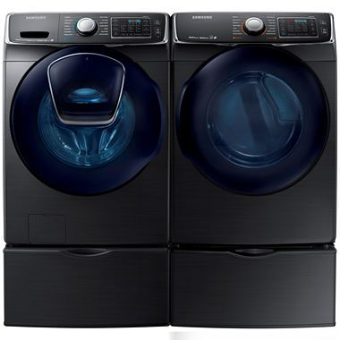 jcpenney.com | Samsung Front Load 2-pc. Electric Washer and Dryer Set