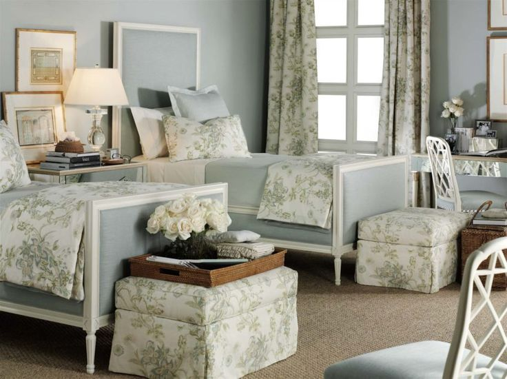 13 Amazing Hickory Chair Designs : Exciting Hickory Chair Designs With Floral Bedding Design