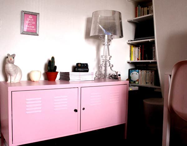 pour repeindre un meuble ikea ps diy pinterest pink. Black Bedroom Furniture Sets. Home Design Ideas