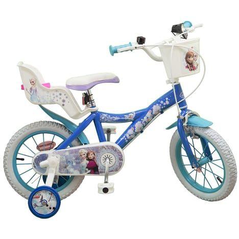 Vélo 14 pouces La Reine des Neiges
