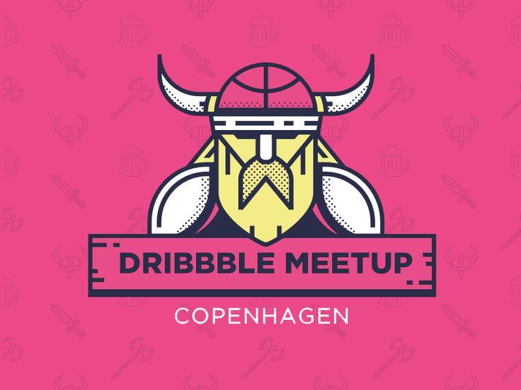 Dribbble meetup Copenhagen by Martin LeBlanc