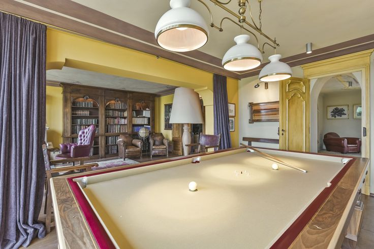 Billiard time! #villa #rent #holiday #piemonte