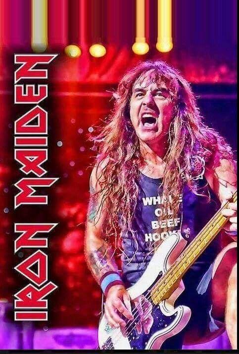 Steve Harris-Iron Maiden...........