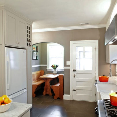 Best Kitchen Images On Pinterest Bungalow Kitchen Kitchen - Craftsman bungalow kitchen breakfast nooks