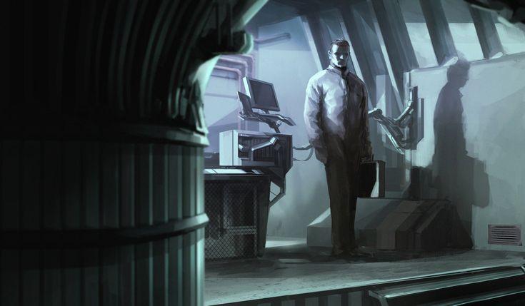 ArtStation - Med Lab, Jakub Fajtanowski