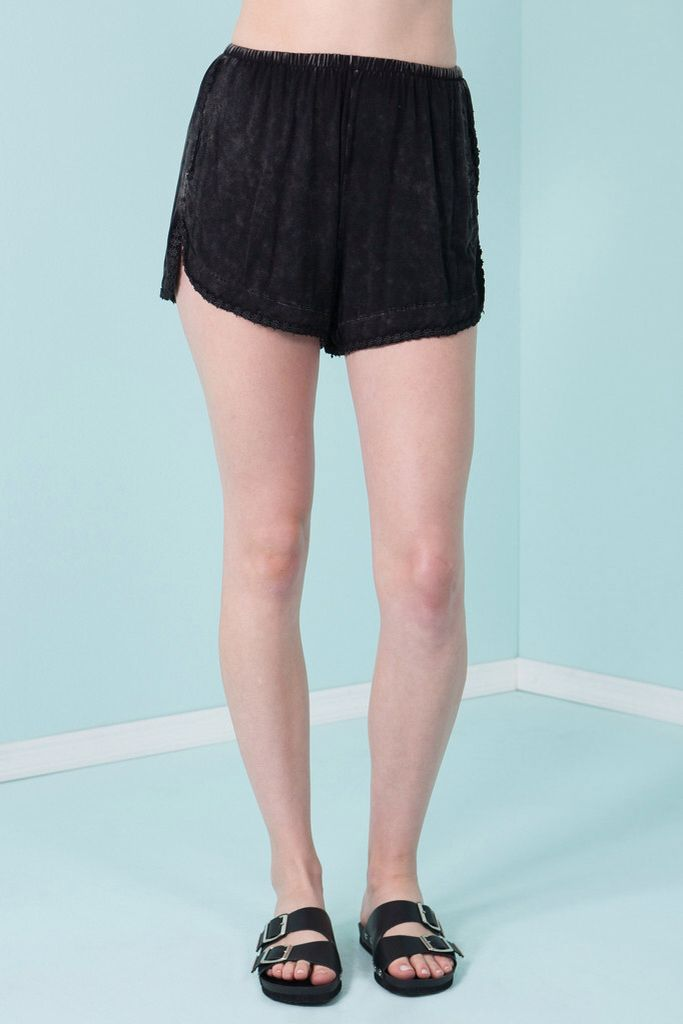 These shorts would be perfect for a sunny day at the beach! They look really comfy