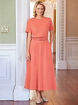 Updated Belted knit Dress | Bedford Fair