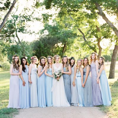 Loved getting to attend this wedding and loved the dresses!
