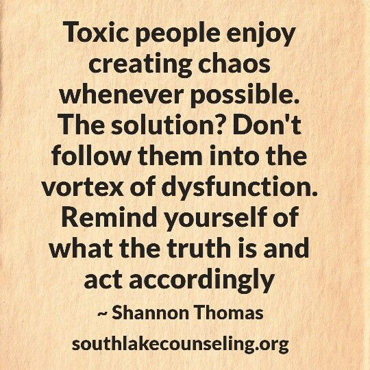 Even regular people do this when under stress. Detach!
