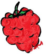 Raspberry facial mask