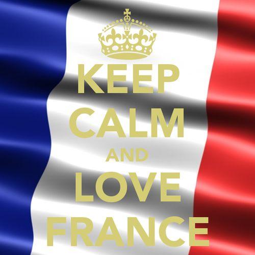 Keep calm and love France ;)
