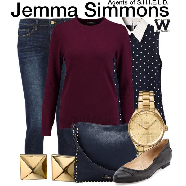 Inspired by Elizabeth Hesntridge as Jemma Simmons on Agents of S.H.I.E.L.D.