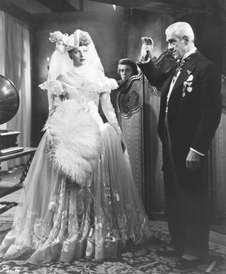 Boris Karloff And Lucille Ball In Lured 1947