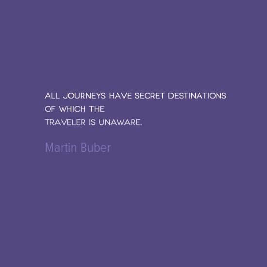 Travel Quote of the Week: Secret Destinations - Solo Traveler