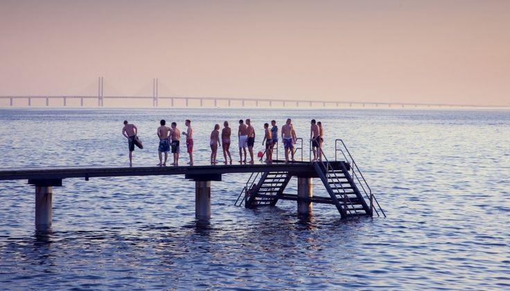 Swimming in Malmö