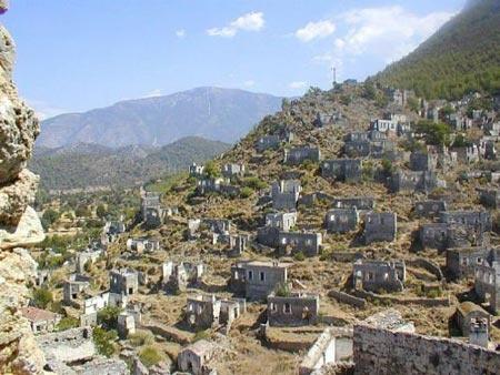 Kayakoy, Greece.