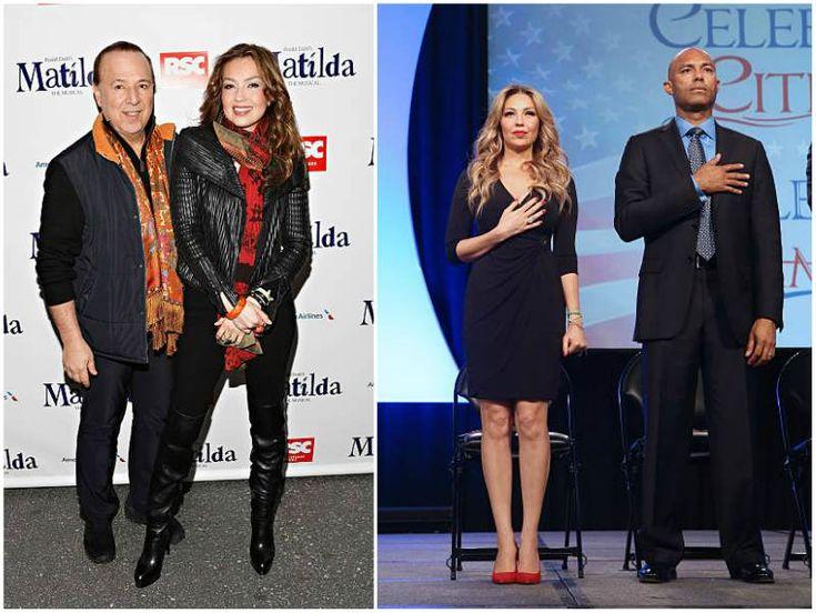 """Singer Thalia's height - 5' 5"""" (165 cm)"""