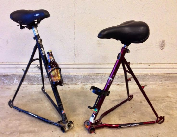 Awesome bike stools