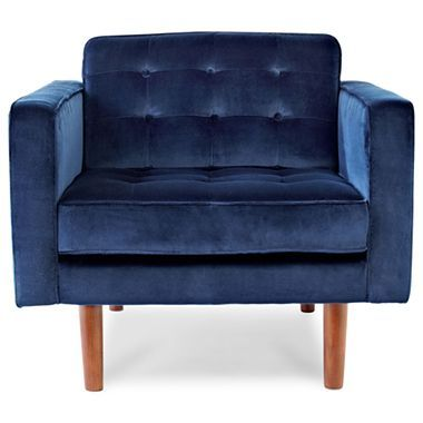 Crescent Heights Tufted Chair