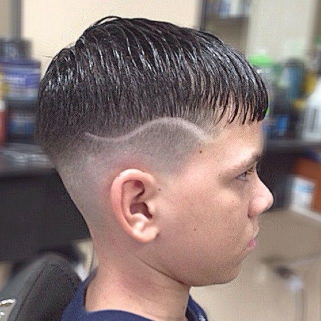 Undercut Hair Tattoo Men