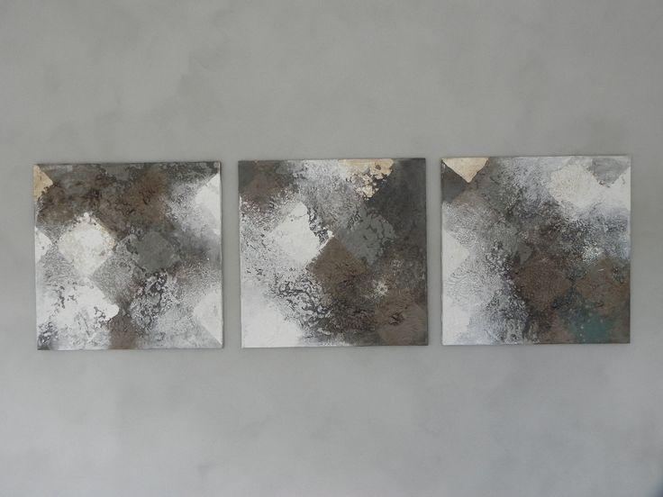 Malerier på lærred/kalkmaling.dk/voks - Britta Hellesøe