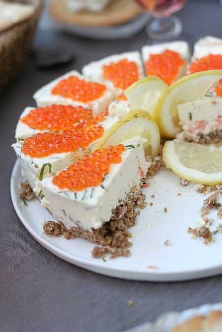 Les Cuisines de Garance: La Tarte suédoise au saumon & Oeufs de saumon { Midsommar à la Colline }