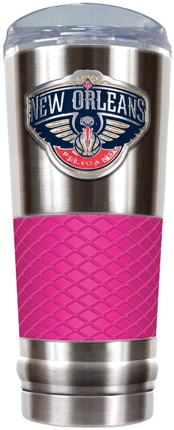 NBA New Orleans Pelicans 24-Ounce Draft Stainless Steel Tumbler