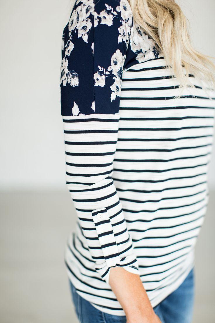 Bella Floral & Stripes