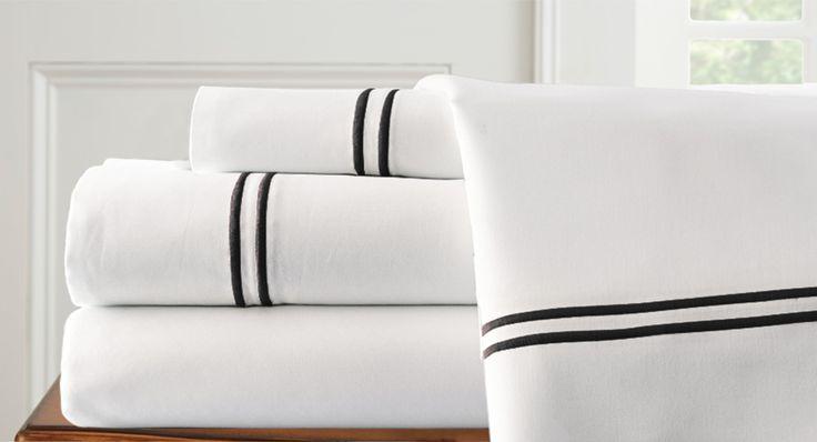 1000 Thread Count Stripe Egyptian Cotton Sheet Set
