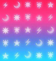 яблоко, фон, синий, цвет, цвета, круто, фейсбук, iphone, свет, огни, луна, природа, неон, фото, картинки, розовый, приятное, луч, звезды, Tumblr, обои для рабочего стола